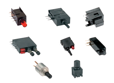 THT Push-Button Switches
