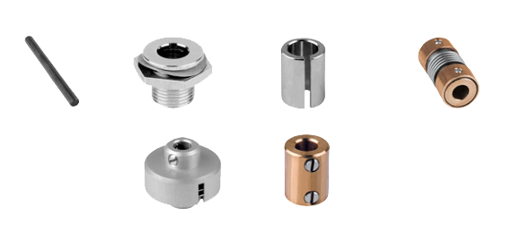 shafts, sleeves, shaft couplings & friction clutches