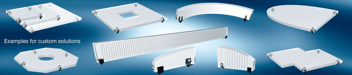Custom light guide systems