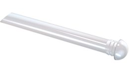 Front panel IP68 rated light guide with round / spherical head 45°