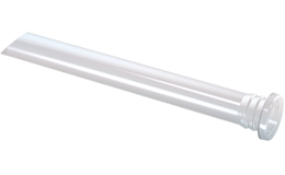 Front panel IP68 rated light guide with round / counterbore head 45°