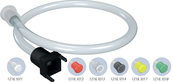 Flexible light guide switches for SMD LEDs, Ø5mm head