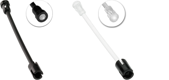 Accessories for flexible light guides