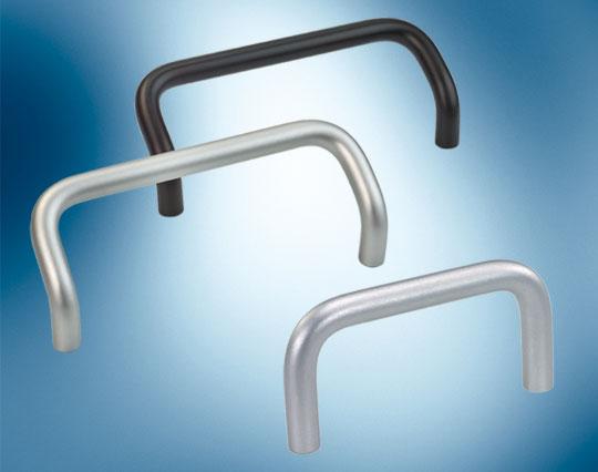 round aluminium bow handles