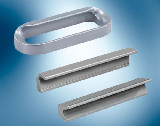fingertip aluminium handles