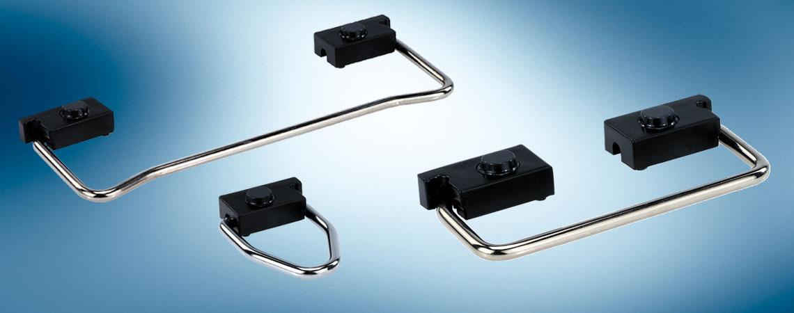 flip-up and prop-up handles