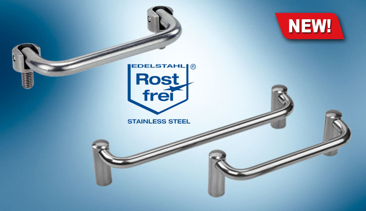 stainless steel folding handles