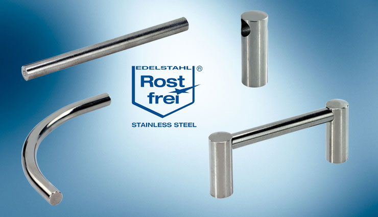 stainless steel handle components