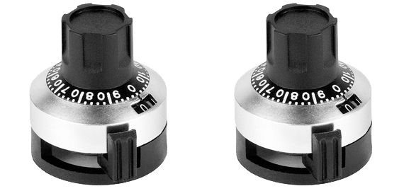analogue rotating knobs