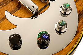 control knob of Gibson's flagship guitar