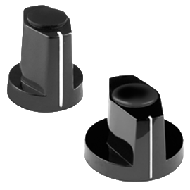 plastic wing knobs with collet fixing