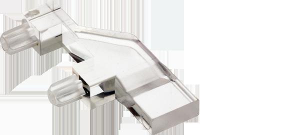 Rectangular head (bargraph) horizontal light guides