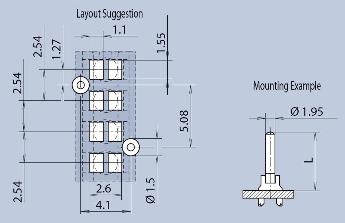Quad Status Indicator 0.2mm