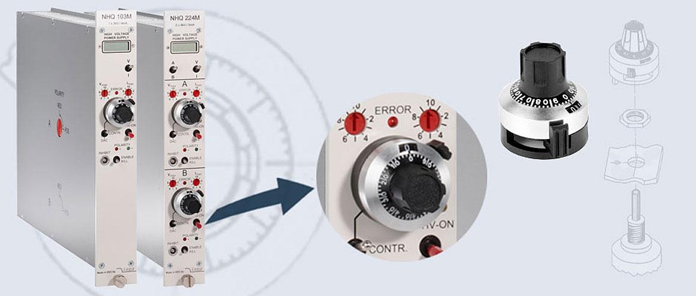 Precision analogue voltage controls