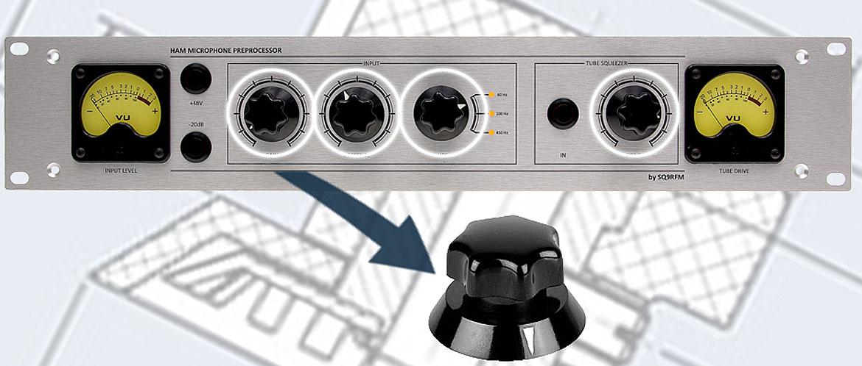 Plastic adjustment knobs