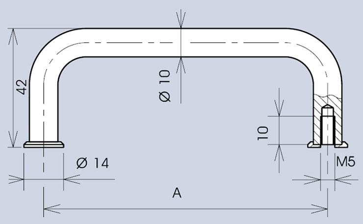 Handle 3470 dimensions diagram