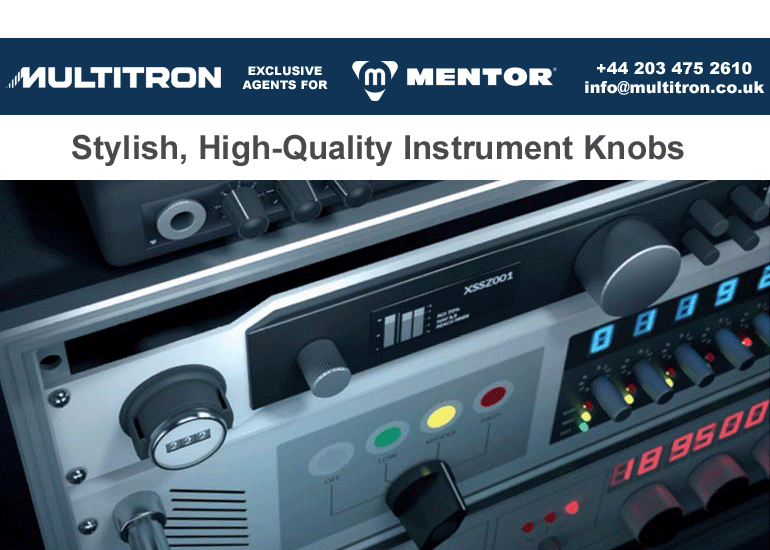 MENTOR Instrument & Control Knobs