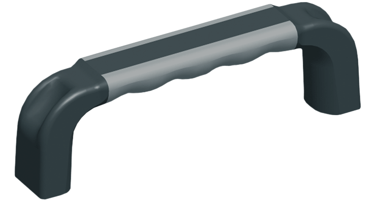 Two-colour plastic handle, part no. 3316.1542