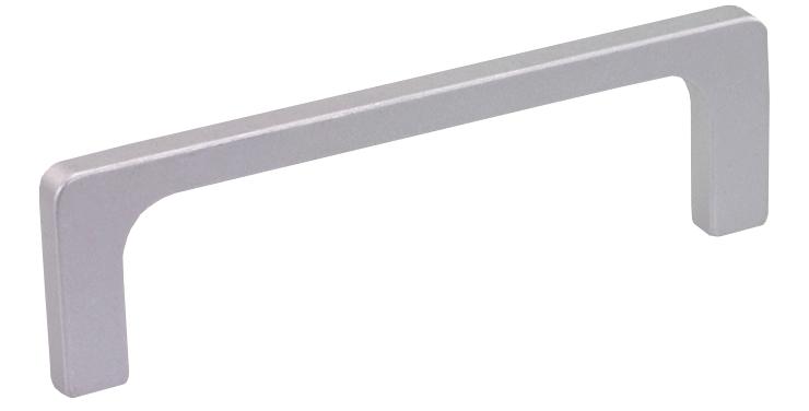 Slim profile rectangular aluminium handle