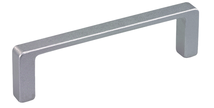 Low profile aluminium handles for higher loads
