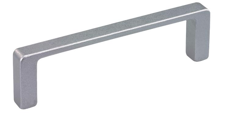 Low profile aluminium handles for higher loads