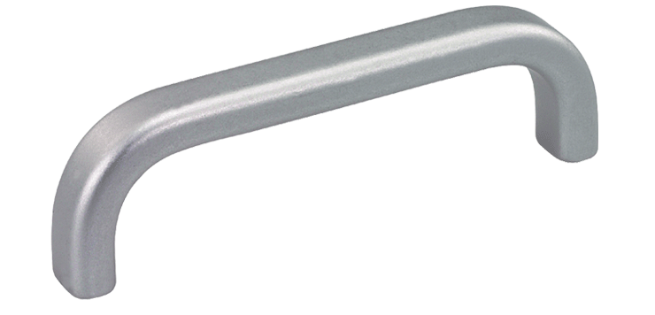 Bow handles with a flat/oval profile