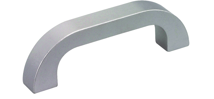Heavy duty ergonomic alumium handle