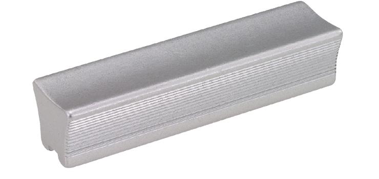 Aluminium fingertip / block-type industrial handles