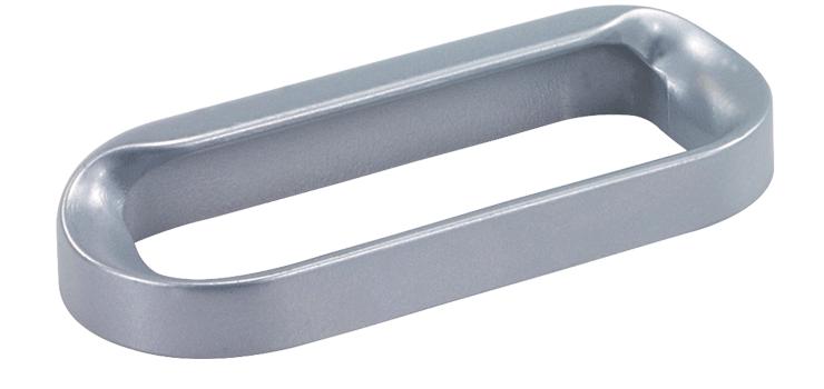Aluminium fingertip handles