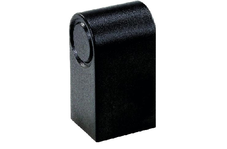 End mounting bracket for 20mm diameter profile