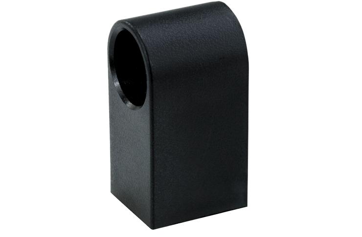 Centre bracket for 20mm diameter profiles