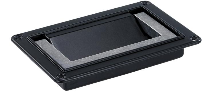 Folding aluminium handles, non-slip handle design