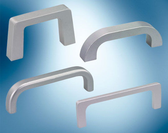 rectangular aluminium bow handles