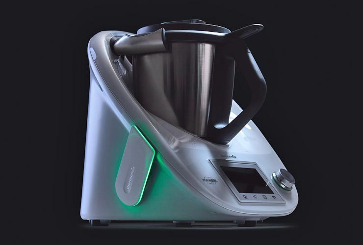 Thermomix integrated light guide system