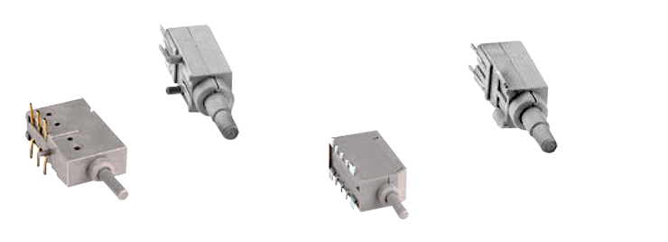 Side-button SMD switches