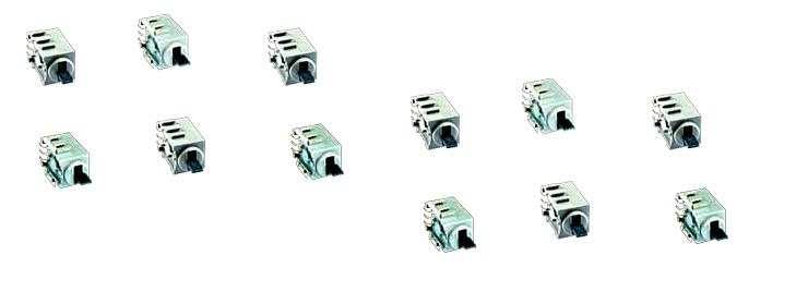 Single-pole SMD toggle switches