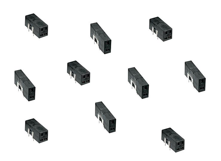 THT test jacks similar to DIN 41616