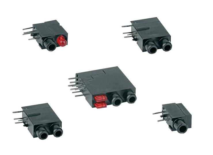 THT switch jacks - Ø2mm