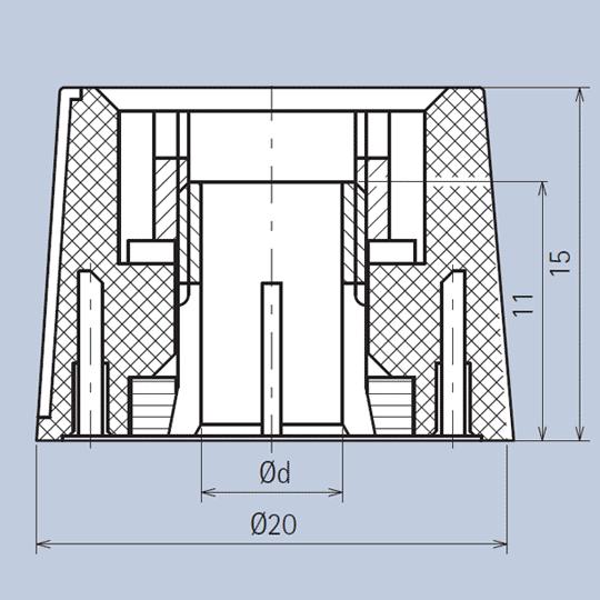 Plastic Knob System diagram