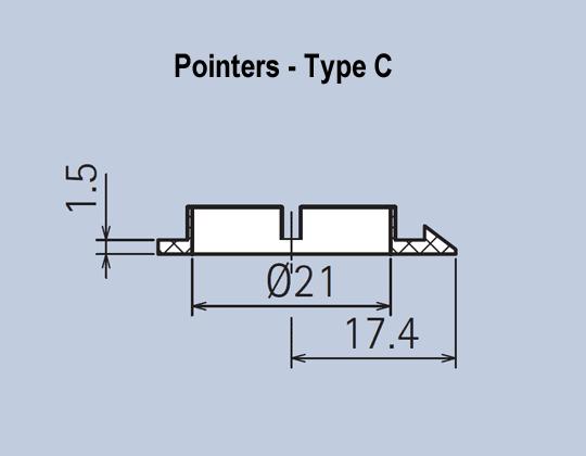 Aluminium Kob System Pointers