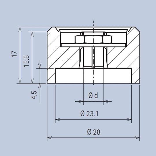 Aluminium Knob System diagram