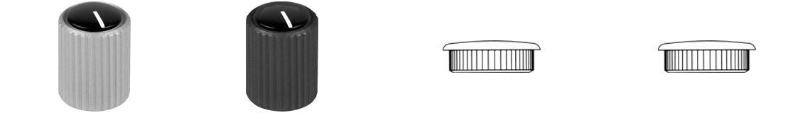 Aluminium Knob System