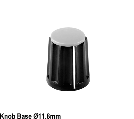 Gloss Plastic Turning Knob System