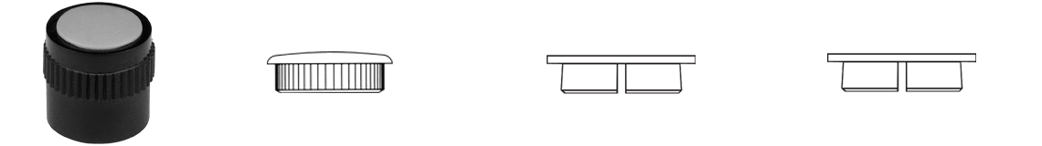 Grip Ring Plastic Knob System