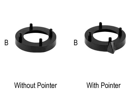 Aluminium System Nut Covers