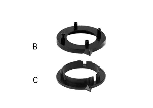 Aluminium Knob System Pointers