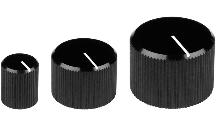 Anodised Aluminium Turning Knob
