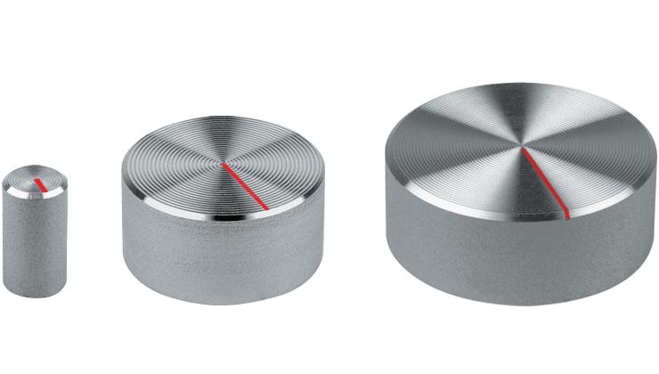 Aluminium Knob with Pointer