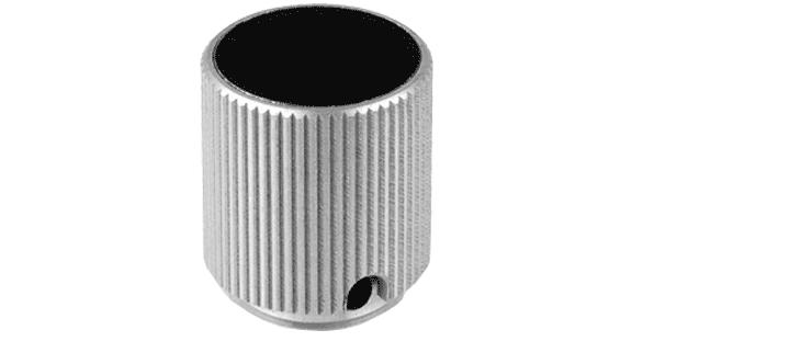 Aluminium Knob with Clutch