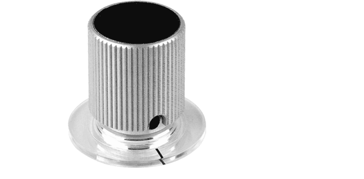 Aluminium Knob with Clutch and Indicator Collar